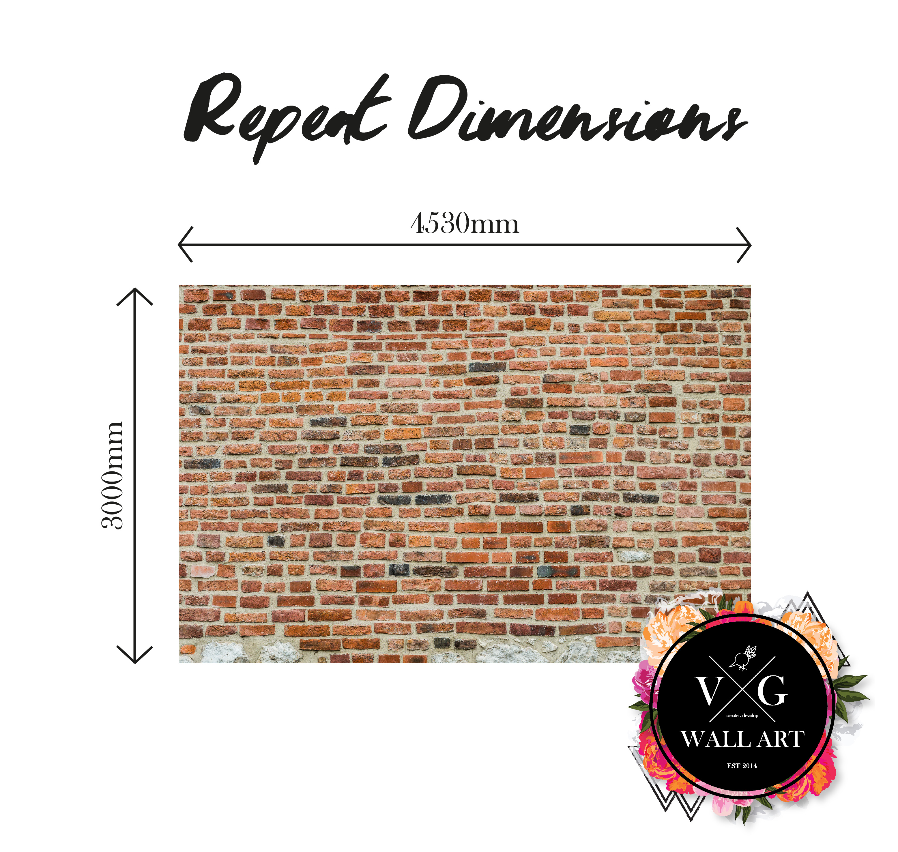 Repeat Dimensions_Red Brick
