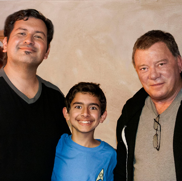 Richard Cruz Jr and William Shatner.JPG