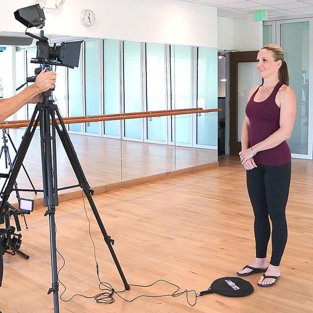 Richard Cruz - Shooting Yoga Production.