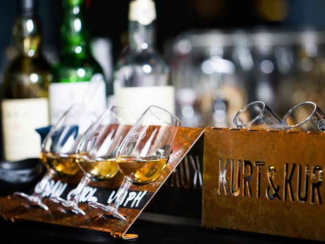 Whisky-Tasting-Board Kurt&Kurt