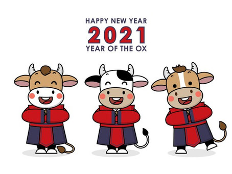 The Year of the Metal Ox.