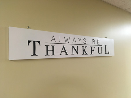 Breathe Thankfulness