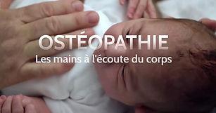 L'ostéopathie les mains à l'écoute du co
