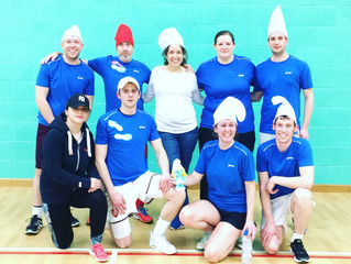 Smurfers give Walkers the blues to win the indoor title