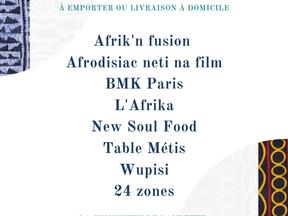 Restaurants Africains qui font de la livraison à domicile en Île de France