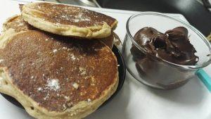 Pancake à la farine de patatePancake à la farine de patate