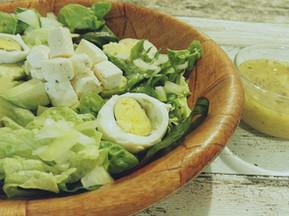 Recette de salade avocat et fromage de chèvre