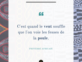 Monday Vibes – Proverbe Africain – Le vent souffle