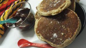 Pancake à la farine de patate