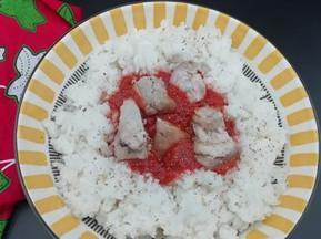 InstaPost : Riz – Sauce Tomate
