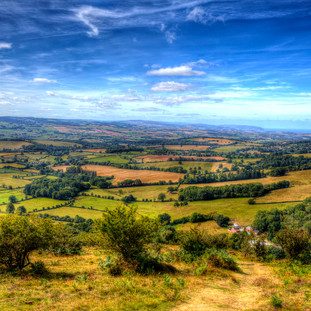 Fresh air and countryside views