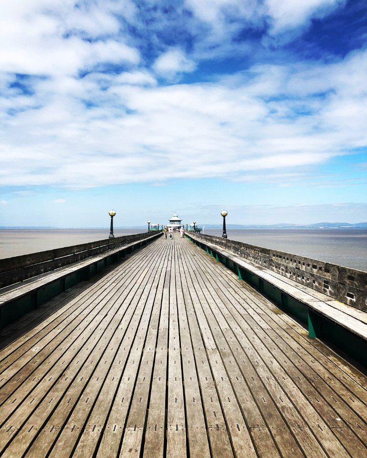 Clevedon pier, Somerset beaches, Somerset cool, Somerset blog, Somerset blogger, Days out in somerset, Somerset bloggers, british piers, grade 1 listed pier,