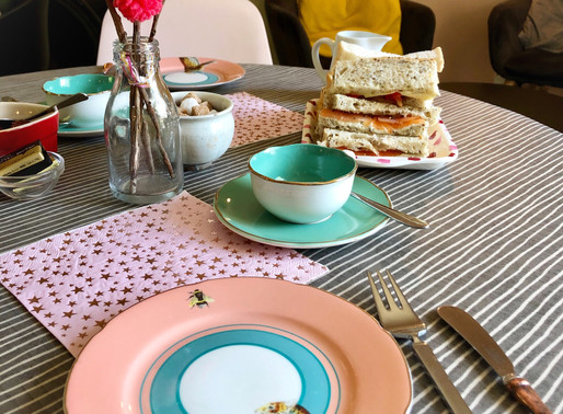 Tea, cake & sunshine – The Drawing Room, Butleigh