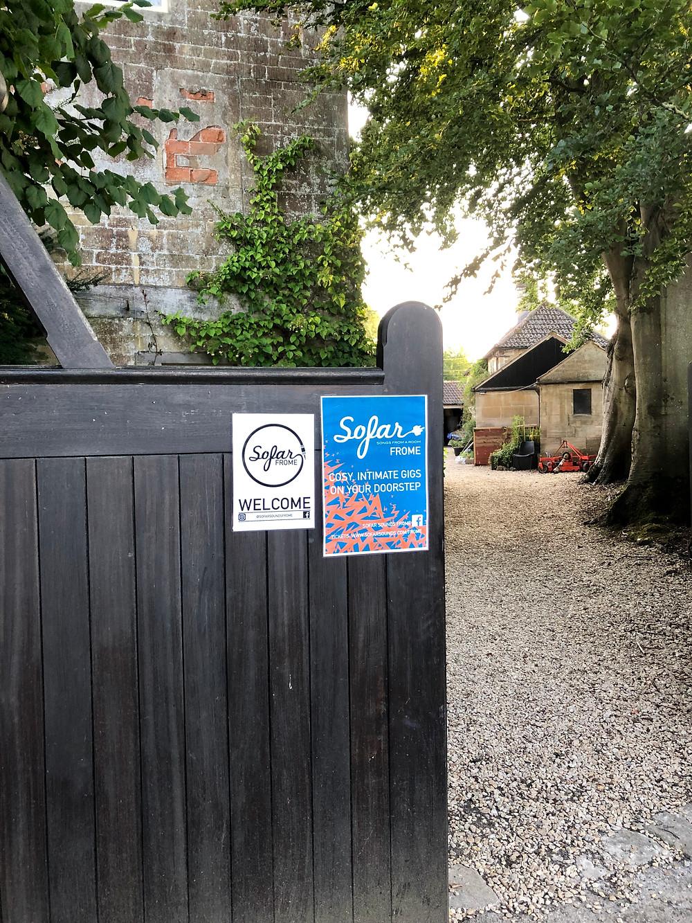 Somerset cool, Sofar sounds frome, Somerset blogger, Somerset blog