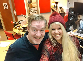 Somerset blogger, Charlie Connelly, Jenna Myles, Somerset cool radio show