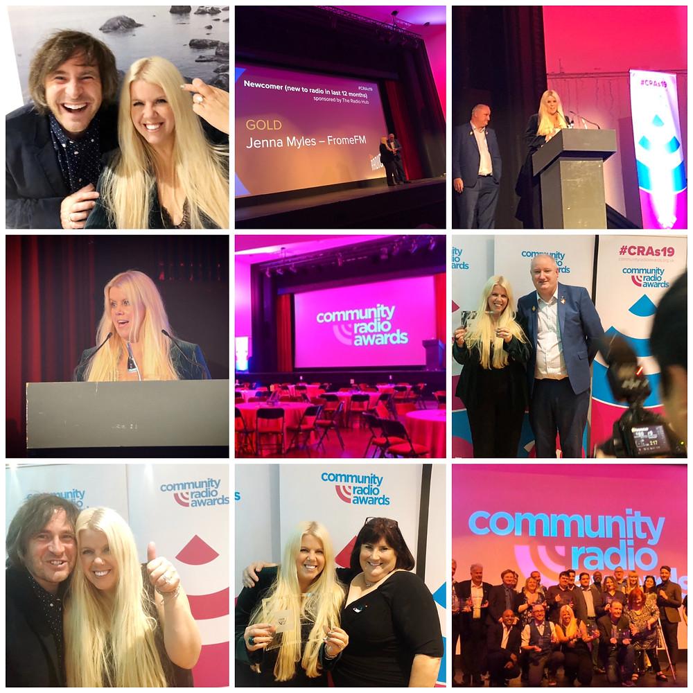 Somerset cool, Community radio awards, Bst newcomer Jenna Myles, Somerset cool, Somerset blogger
