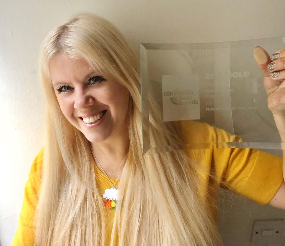 Somerset cool, Somerset blogger, Best newcomer national community radio awards, jenna myles
