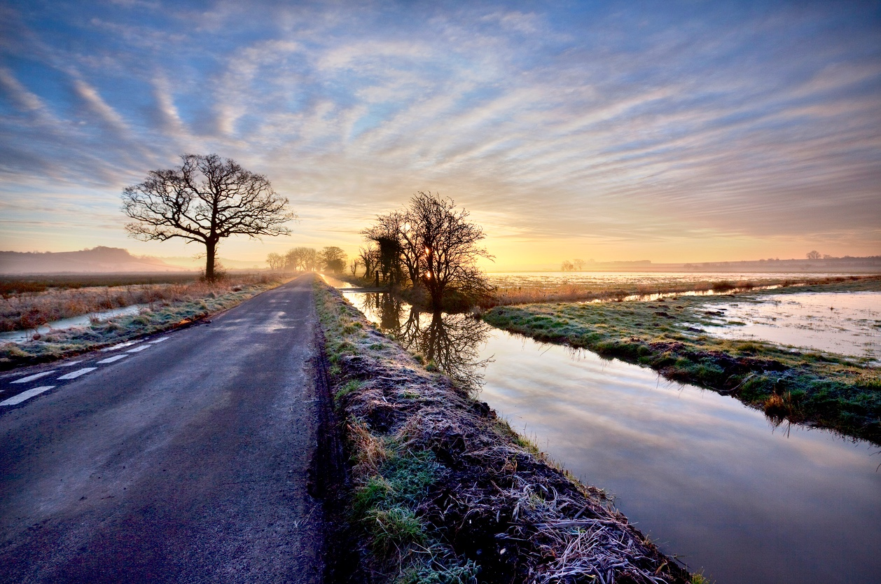 The Somerset Levels, Somerset blog