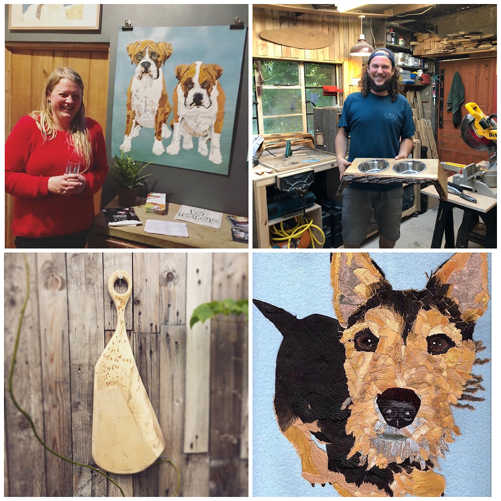 Somerset cool, Ness Robinson, Oli Lee, With Bear hands, art in somerset, Somerset makers, Somerset bloggers, Blogs about Somerset
