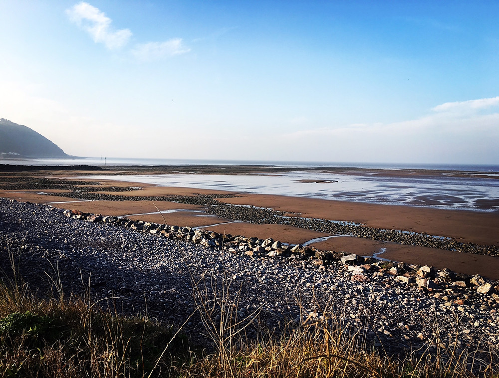 Dunster beach, places to visit in Somerset, Somerset cool, Somerset blog, bloggers in Somerset