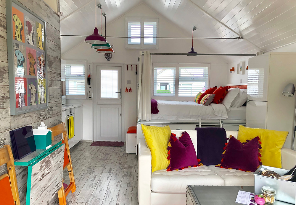 Somerset cool, holi moli at Dunster beach, Somerset blog, Places to stay in Somerset, beach huts in Somerset
