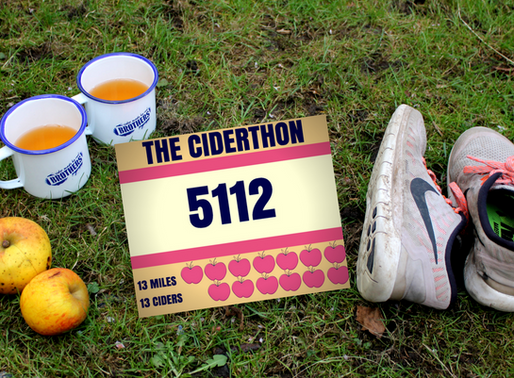 The Ciderthon - Four Thoughts