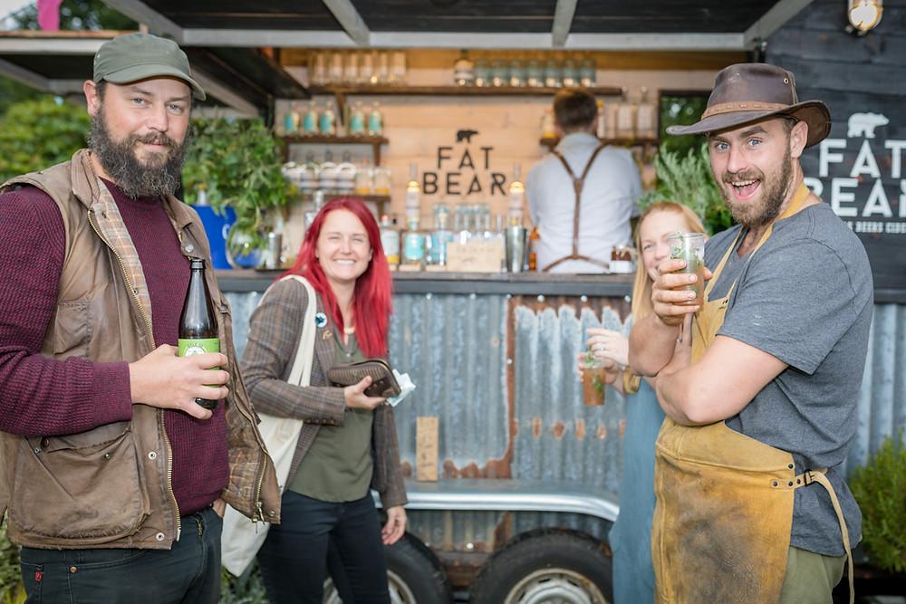 Fat bear, Toby's garden fest, Forde Abbey, Somerset cool, Somerset blog, Bloggers in Somerset, cool things to do in Somerset
