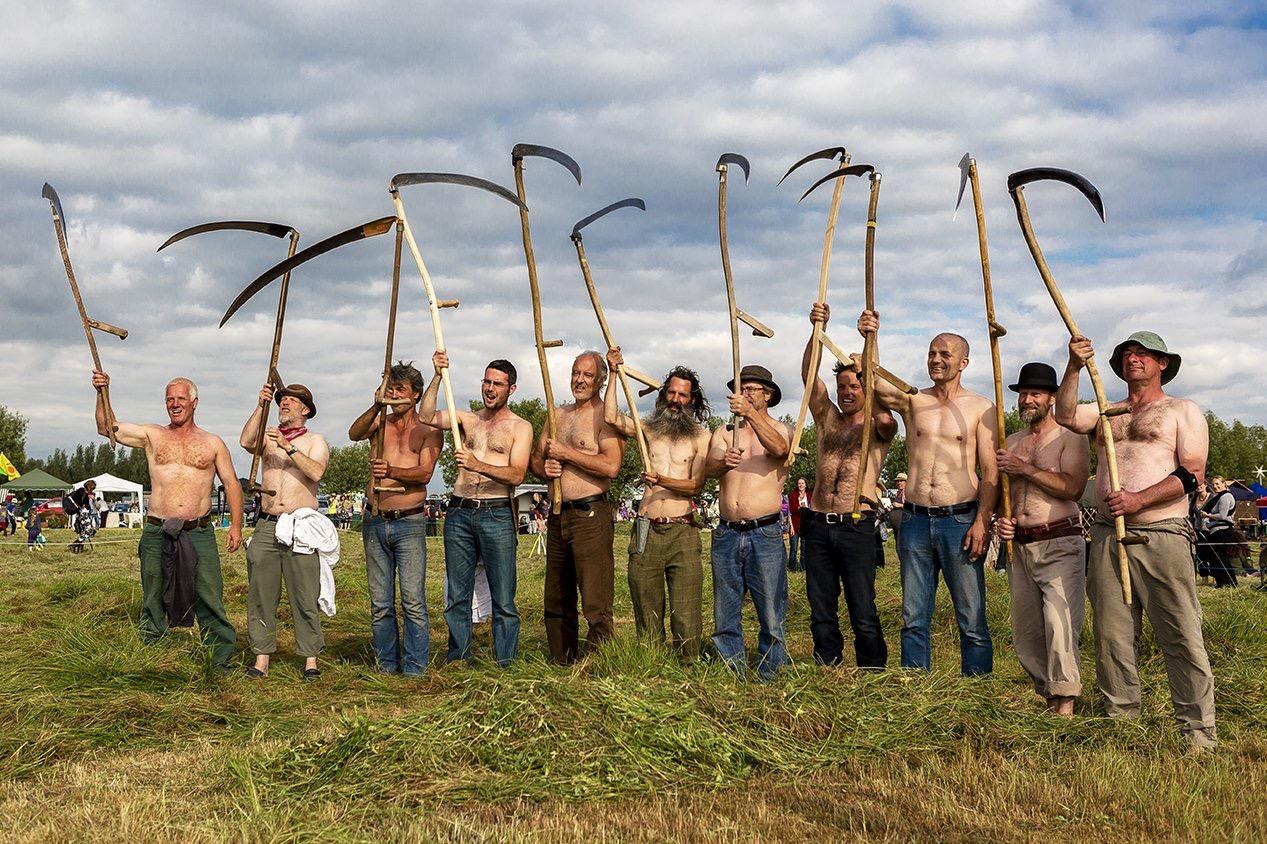 Somerset scythes