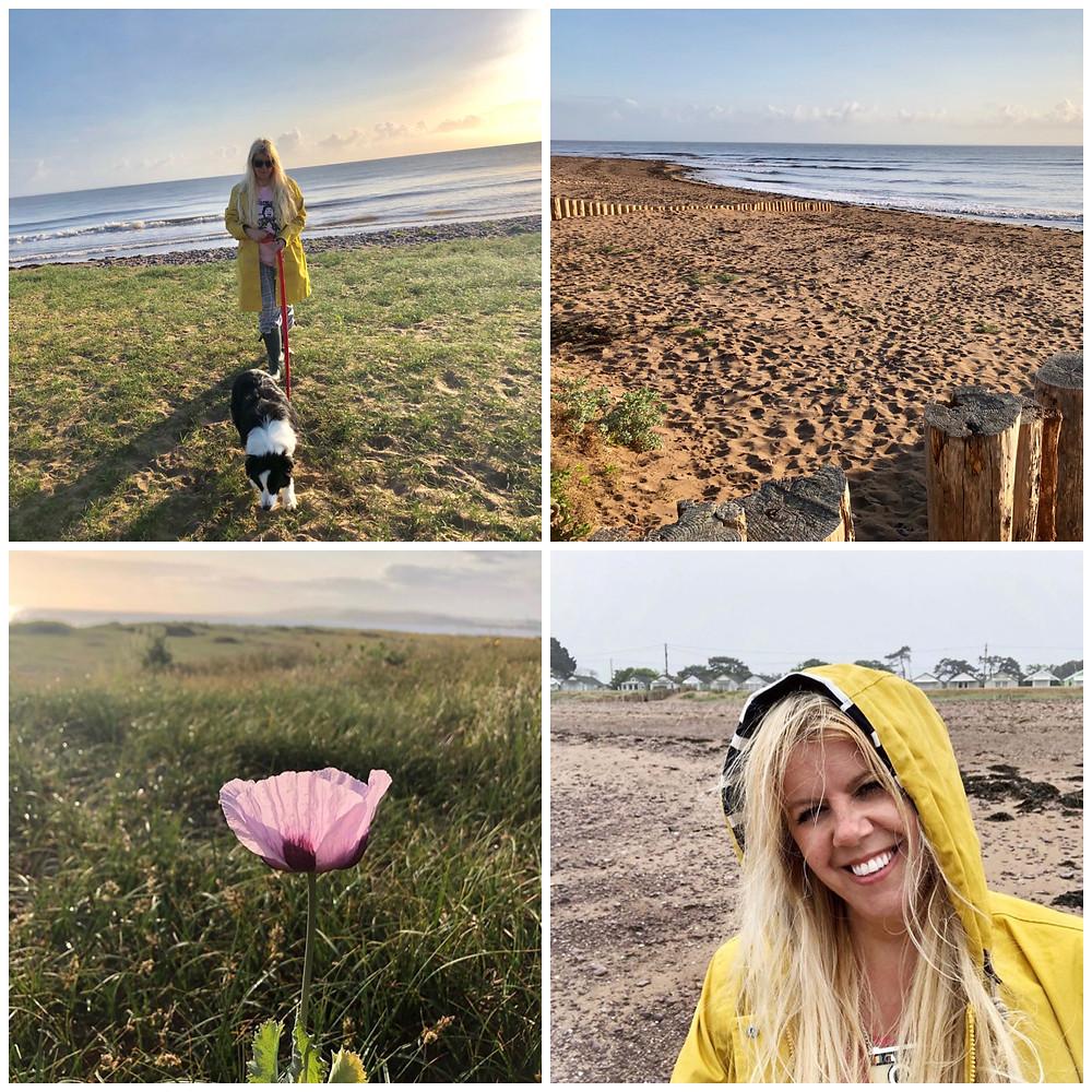 Somerset cool, Dunster Beach Hut holi Moli, Beach huts in Somerset, Somerset blogger