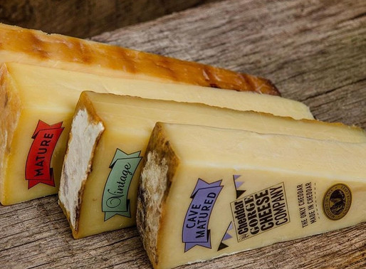 The only Cheddar made in Cheddar! The Cheddar Gorge Cheese Company
