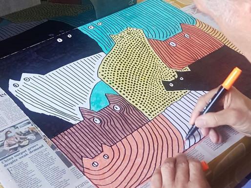 Art in lockdown – closer through creativity