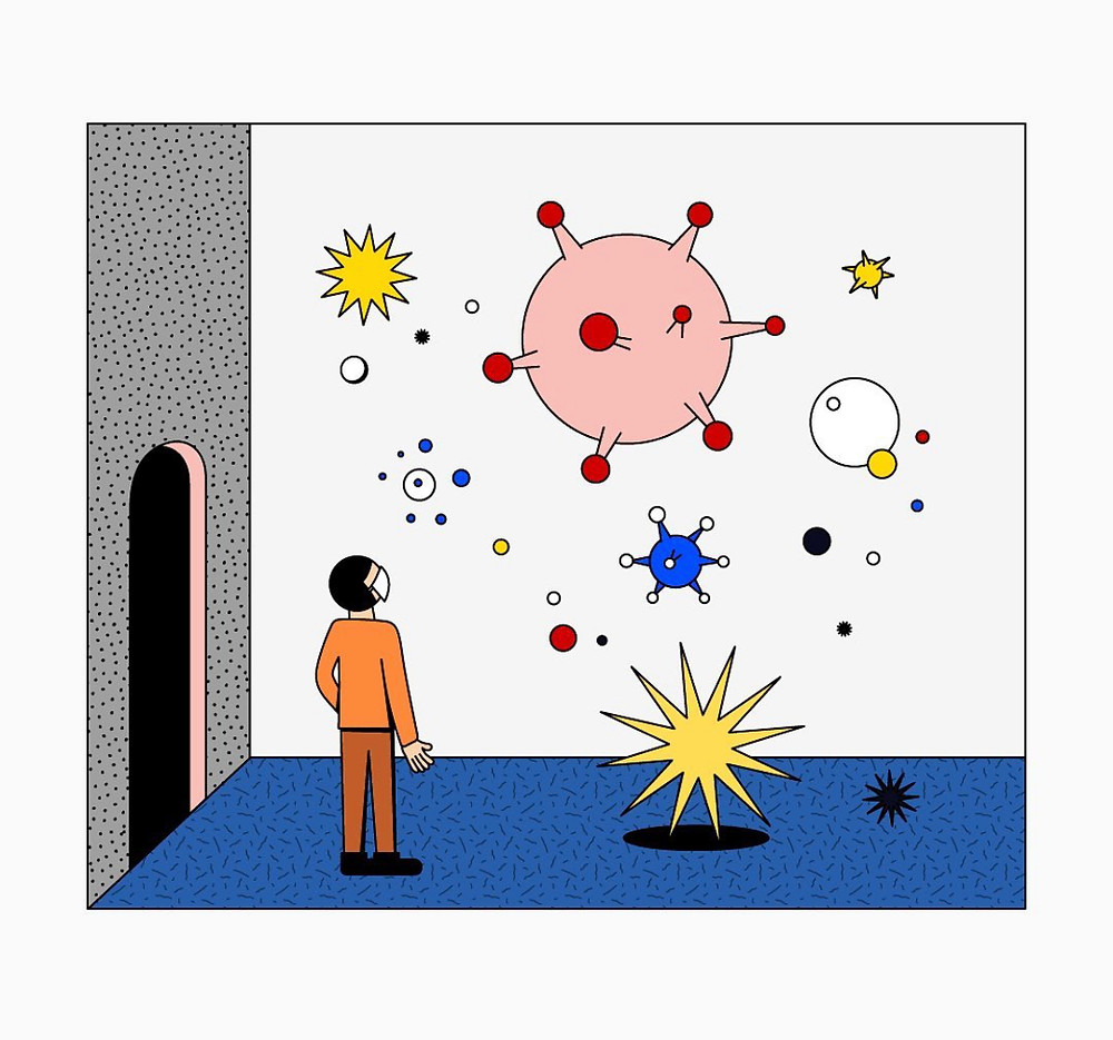 Simo Liu, Simo Liu illustration, Shake comms, Shake communications, Inspiration blog