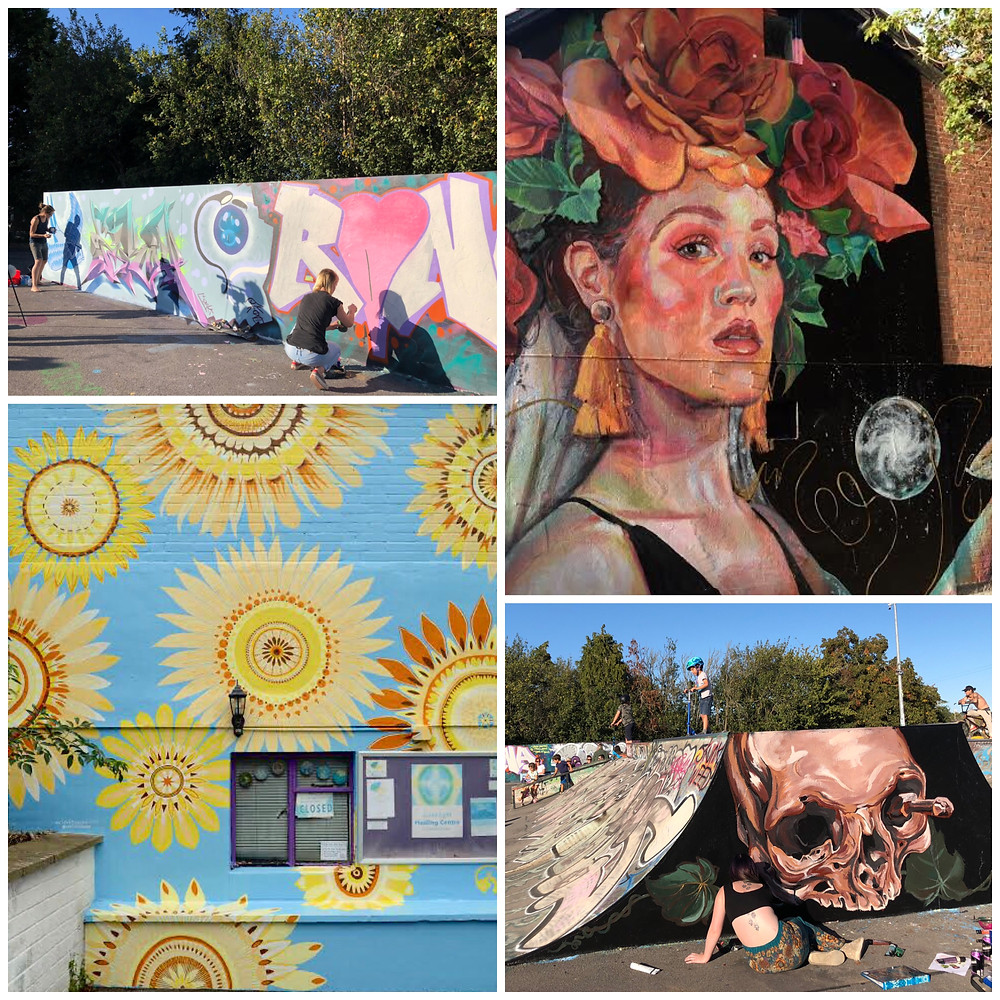 Somerset cool, Glastonbury Mural Trail, Somerset blog, Somerset art weeks