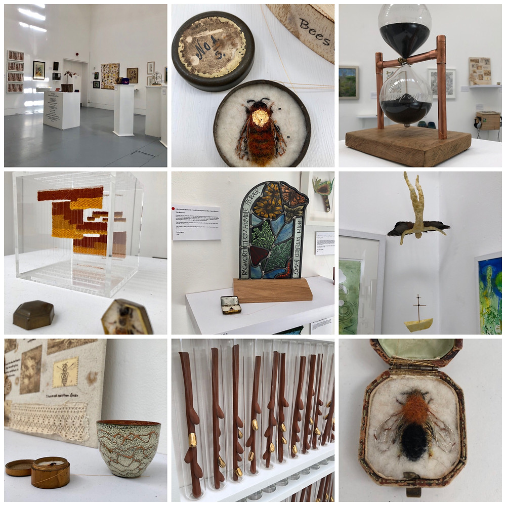 Fifty bees the interconnectedness of all things, Somerset cool, Somerset blogger, Blogs about Somerset, art in Somerset