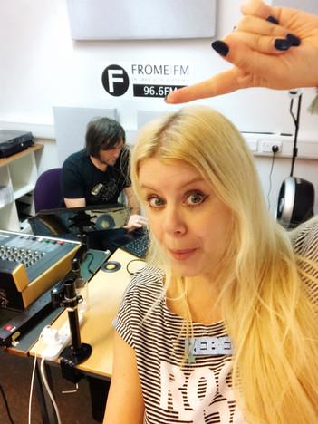 Silliness in the studio