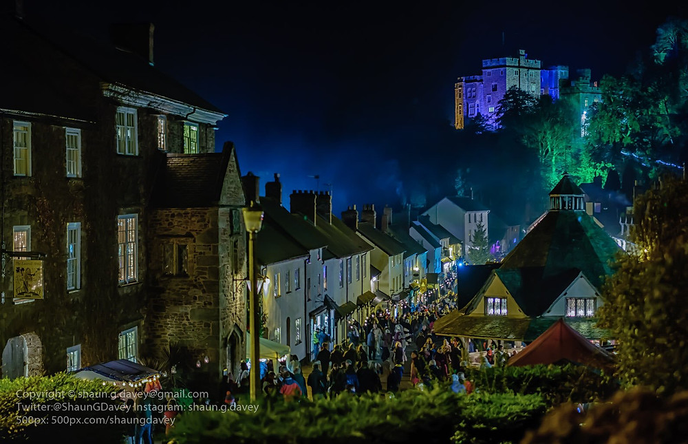 Somerset cool, Dunster by Candlelight, Somerset blog