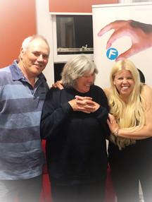 Jenn with Liz & Colin, founders of Somrset & Dorset Animal Rescue