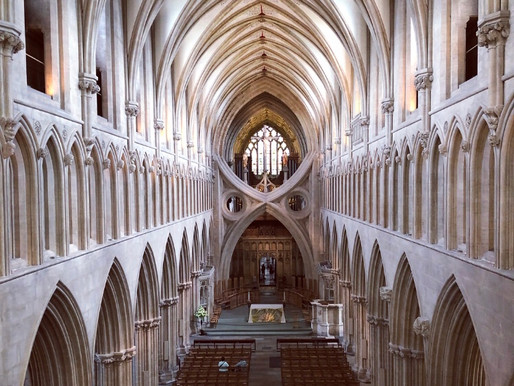 High parts, no lows! A stunning Wells Cathedral tour