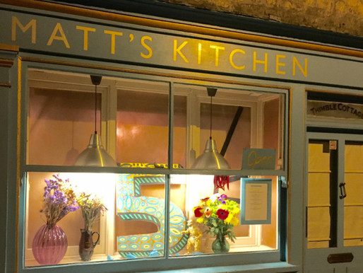 Matt's Kitchen... our favourite place!