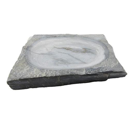 Plat en marbre