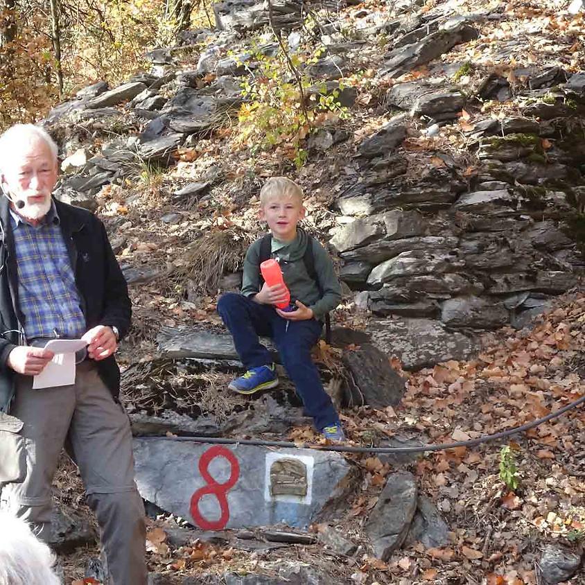Randonnée : Sur les traces historiques du marbre cipolin de Saillon