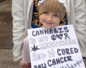 Oregon's Youngest Medical Cannabis Patient - See How Cannabis Helped her!