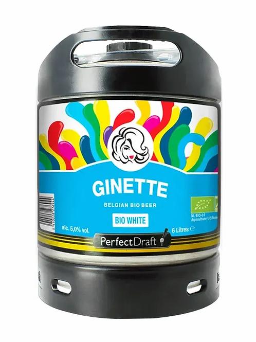 Mini fut Ginette bio blanche 6L 5°