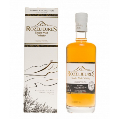 Whisky Rozelieures collection subtil 40° 70cl