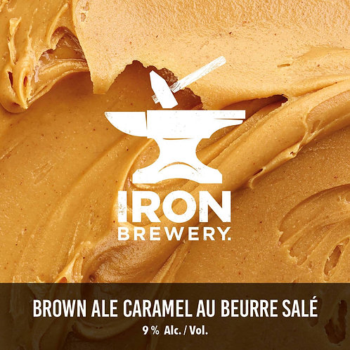 Iron - Imperial brown ale caramel 44cl 10°
