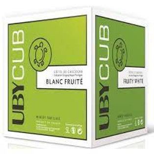 Uby cub blanc fruité 5l 11.5°