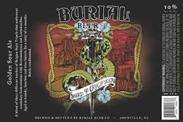 Burial - Sword of crucifixion 50cl 10°