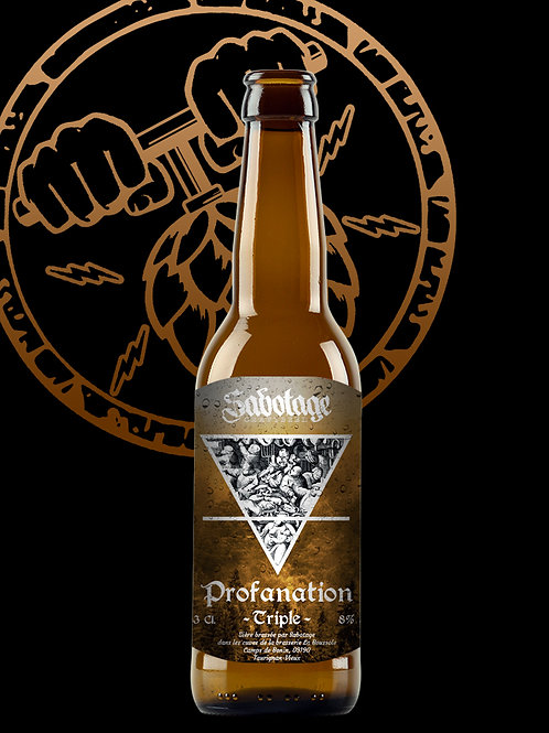 Sabotage Craftbeer Profanation  8° 33cl