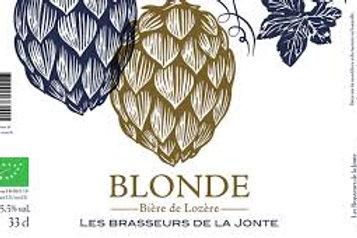 Brasseurs de la Jonte - Blonde 33cl 5.5°