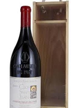 Chateauneuf du Pape - Clos St Jean - Sanctus sanctorum Magnum 16°